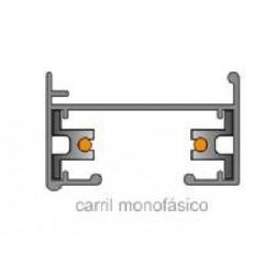 Foco LED Carril Monofásico