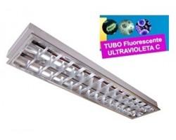 Luminaria Empotrar 1197x297mm 2x36W UV desinfectante
