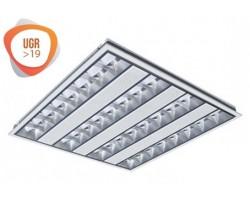 Panel LED 600X600mm 38W Baja Luminancia UGR<19