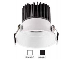 Foco Downlight LED COB Orientable Redondo Blanco Ø82mm 7w Konic Tech