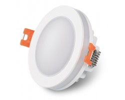 Foco Downlight empotrar LED redondo 6W IP44