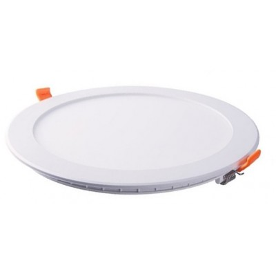 Downlight panel LED Redondo 240mm Blanco 24W