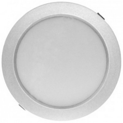 Downlight panel LED Redondo 235mm Gris 25W Blanco Neutro