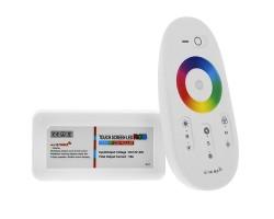 Controlador WiFi RGB con mando táctil, compatible HUB