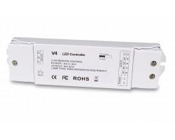 Receptor Controlador Eco para tira LED monocolor, RGB y RGBW 12-36V 4 canales 240-720W