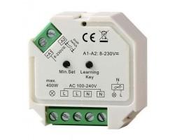 Regulador LED electrónico universal 400W para pulsador o mado a distancia
