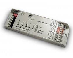 Regulador Controlador KNX para tira LED Monocolor 12-36V 4 canales 240-720W