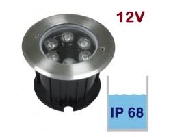 Foco LED exterior IP68 empotrar 6W