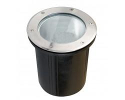 Foco LED exterior Redondo 200mm IP67 empotrar para E27