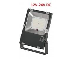 Foco LED exterior PRO 12V-24V DC 30W IP65 Gris