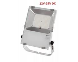 Foco LED exterior PRO 12V-24V DC 50W IP65 Blanco