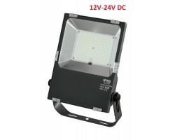 Foco LED exterior PRO 12V-24V DC 50W IP65 Gris