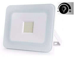 Foco Proyector LED exterior Slim NEOLINE IPAD Glass Blanco 20W IP65 SMD Regulable