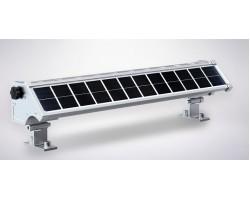 Foco LED exterior bañador pared lineal 10W 525mm SOLAR