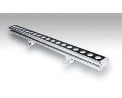 Foco LED exterior bañador pared lineal 18W 1000mm