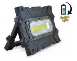 Foco LED exterior 10W IP44 portatil funciona con Pilas