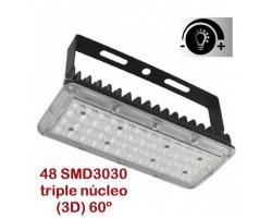 Foco Proyector LED exterior Modular 50W 60º Regulable