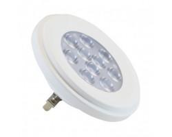 Lámpara LED AR111 Blanca G53 13W 12V 38º Blanco Cálido