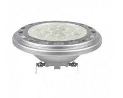 Lámpara LED AR111 Plata G53 15W 12V 38º