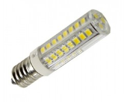 Lámpara LED Tubular E14 16x65mm 6W