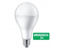 Lámpara LED Standard A65 E27 7W EMERGENCIA 3H