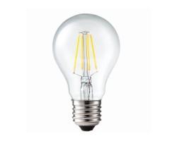 Lámpara LED Standard Clara E27 4W Filamento