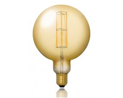 Lámpara LED Globe G200 Gold E40 11W Filamento 2100ºK Regulable