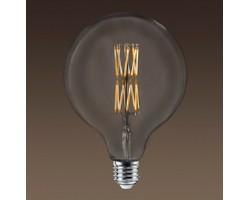 Lámpara LED Globe G150 Clara E40 10W Filamento Trenzado 2200ºK Regulable