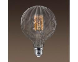 Lámpara LED Globe Pinya G150 Clara E40 8W Filamento 2200ºK Regulable