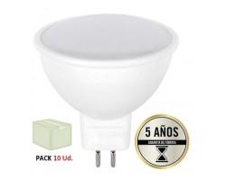 Lámpara LED GU5,3 MR16 SMD 5W 110º, Caja de 10 ud x 1,88€/ud
