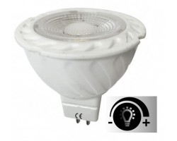 Lámpara LED GU5,3 MR16 12V SMD 6W 38º Regulable