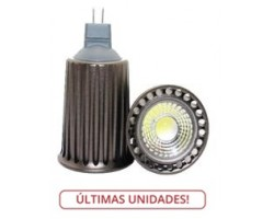 Lámpara LED GU5,3 MR16 COB 7W