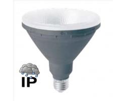 Lámpara LED PAR38 E27 15W 230V Blanco Frío IP65