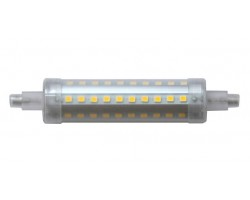 Lámpara LED R7s 118mm diámetro 24mm 230V 10W 950Lm Regulable