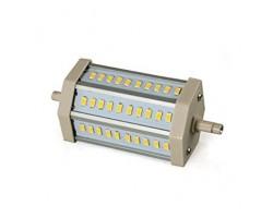 Lámpara LED R7s 135mm 230V 12W Blanco Frío