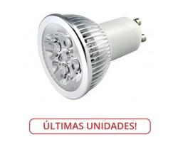 Lámpara LED GU10 4W