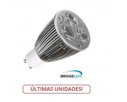 Lámpara LED GU10 6W Blanco Neutro, Bridgelux