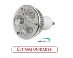Lámpara LED GU10 6W, Bridgelux