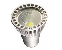 Lámpara LED GU10 COB 6W 50º