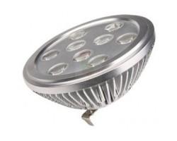 Lámpara LED AR111 G53 9W Blanco cálido 60º Birdgelux