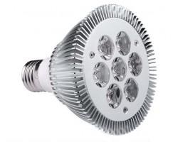 Lámpara LED PAR30 E27 9W Blanca Fría , Bridgelux