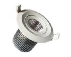 Foco LED Blanco orientable empotrar COB 9W