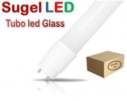 Tubo LED T8 1200mm Cristal ECO 18W Blanco Frío, conexión 1 lado, Caja de 25 ud x 3,49€/ud.