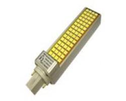Lámpara LED PL G24 1000LM 12W SMD5050