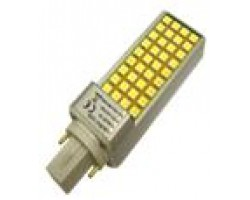 Lámpara LED PL G24 680LM 8W SMD5050