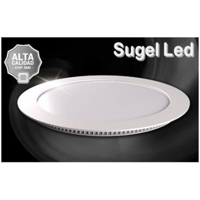 Downlight panel LED Redondo 245mm Blanco 22W