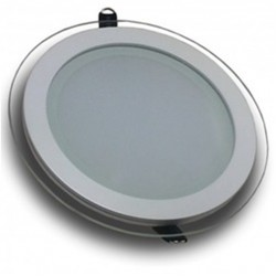 Downlight panel LED Redondo 100mm Cristal 7W