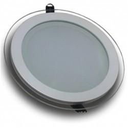 Downlight panel LED Redondo 200mm Cristal 16W
