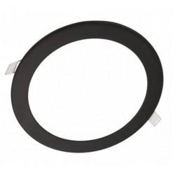 Downlight panel LED Redondo 200mm Negro 15W