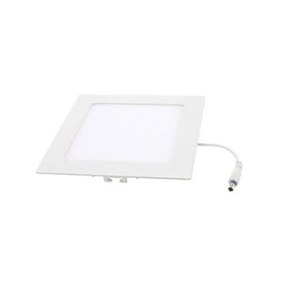 Downlight panel LED Cuadrado 120x120mm Blanco 6W